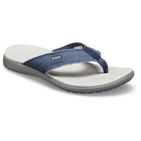 Crocs Santa Cruz sandaalit Miehet, navy/light grey